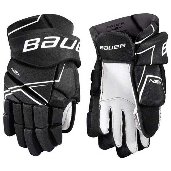 Bauer NSX GLOVES SR černá 13 - Hokejové rukavice