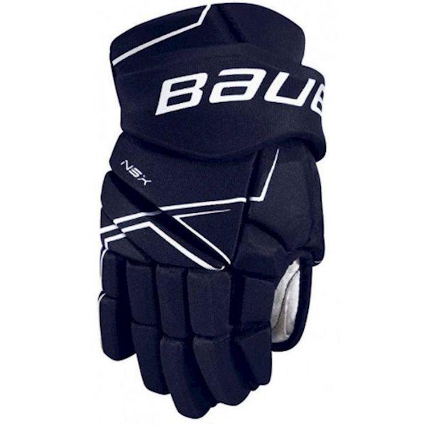 Bauer NSX GLOVES SR modrá 15 - Hokejové rukavice