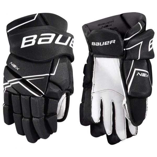 Bauer NSX GLOVES JR černá 12 - Juniorské hokejové rukavice