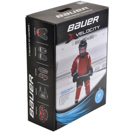 Children's hockey set - Bauer VAPOR XVELOCITY YTH KIT - 1