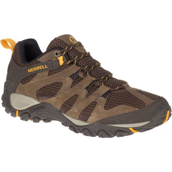 Merrell ALVERSTONE hnědá 11.5 - Pánské outdoorové boty
