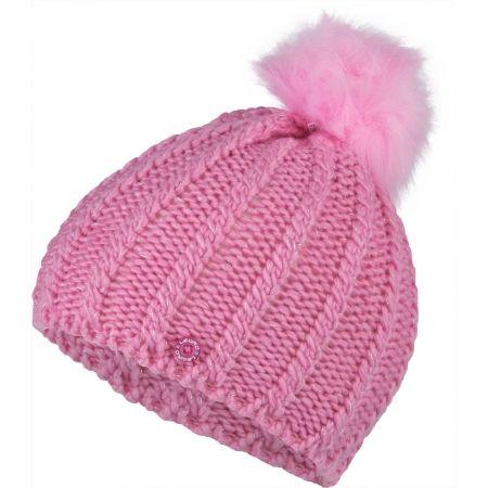 Dievčenská pletená čiapka - Lewro PAJKA