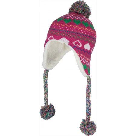 Lewro BUTTERFREE - Dívčí pletená čepice