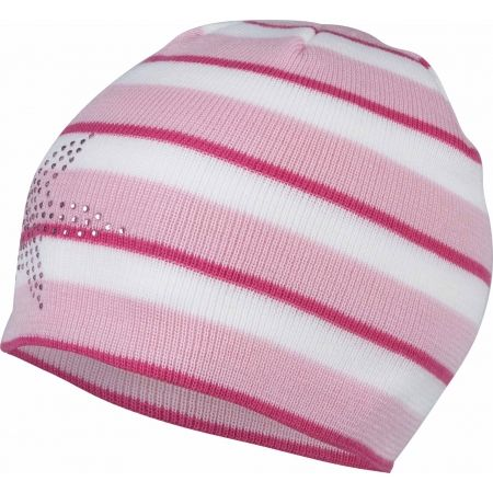 Lewro BEAUTIFLY - Dívčí pletená čepice