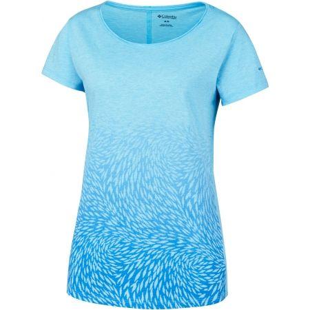 Women's T-shirt - Columbia OCEAN FADE SHORT SLEEVE TEE - 1