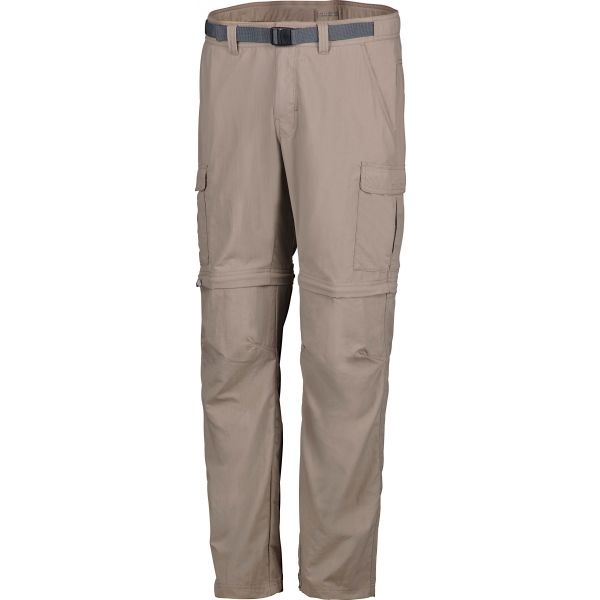 Columbia CASCADES EXPLORER CONVERTIBLE PANT béžová 38 - Pánské outdoorové kalhoty