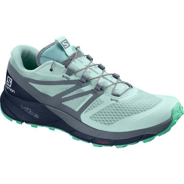 Salomon SENSE RIDE 2 W zelená 5.5 - Dámská trailová obuv