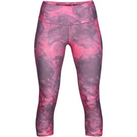 Under Armour HG ARMOUR CAPRI PRINT-ORG - Women's tights