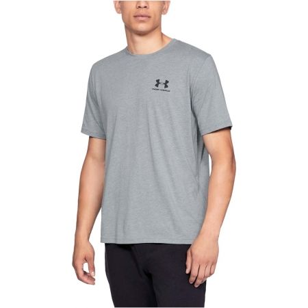Pánské triko - Under Armour SPORTSTYLE LEFT CHEST SS - 4