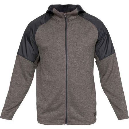 Men's sweatshirt - Under Armour MK1 TERRY FZ HOODIE - 1