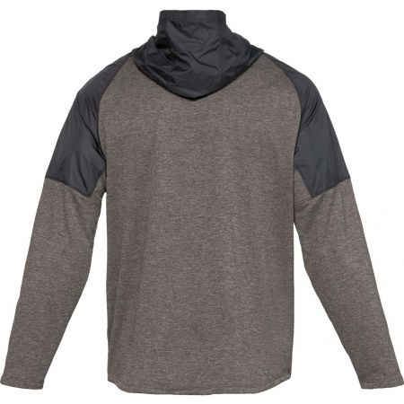 Men's sweatshirt - Under Armour MK1 TERRY FZ HOODIE - 2