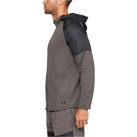 Men's sweatshirt - Under Armour MK1 TERRY FZ HOODIE - 5