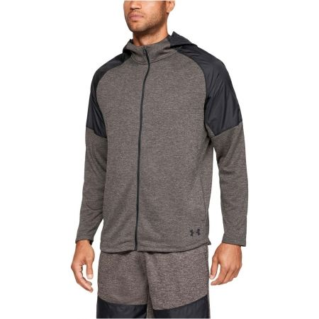 Men's sweatshirt - Under Armour MK1 TERRY FZ HOODIE - 4