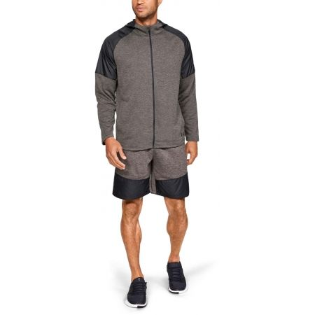 Men's sweatshirt - Under Armour MK1 TERRY FZ HOODIE - 3