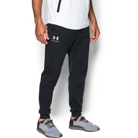 Men's sweatpants - Under Armour SPORTSTYLE TRICOT JOGGER - 4