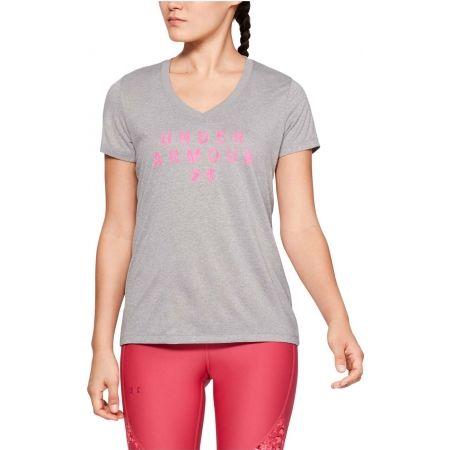 Women's T-shirt - Under Armour TECH SSV GRAPHIC - 4