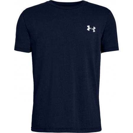Boys' T-shirt - Under Armour BACK BOX GRAPHIC SS - 1