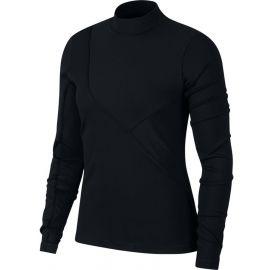 Nike NP HPRCL RIB LS TOP - Tricou damă