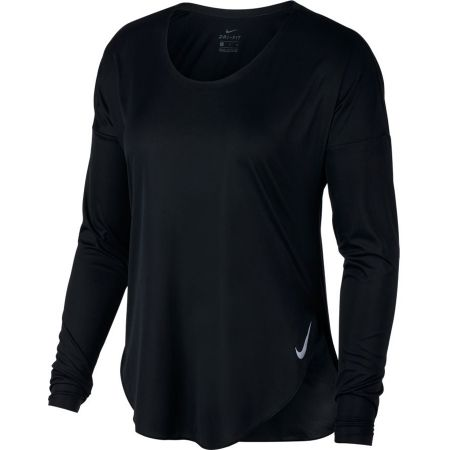 Women's T-shirt - Nike CITY SLEEK TOP LS - 3