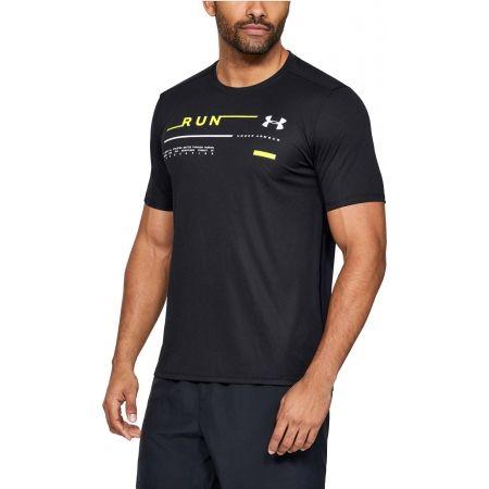Pánské běžecké triko - Under Armour RUN GRAPHIC TEE - 4