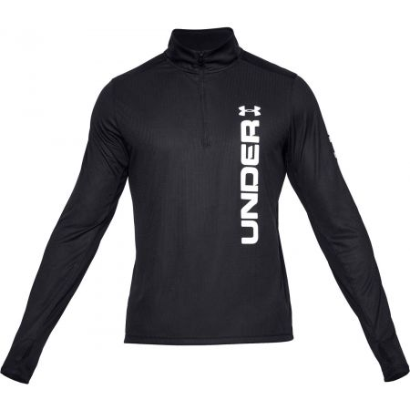 Under Armour SPEED STRIDE SPLIT 1/4 ZIP - Pánské triko