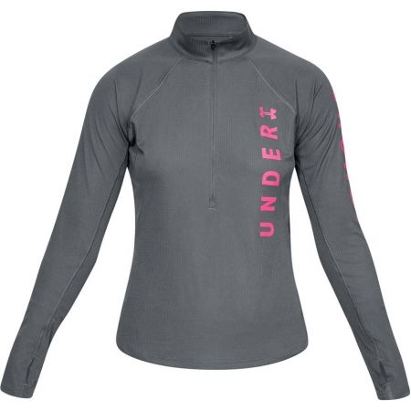 Dámské triko - Under Armour SPEED STRIDE SPLIT WORDMARK HALF ZIP - 1