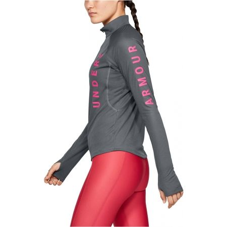 Dámské triko - Under Armour SPEED STRIDE SPLIT WORDMARK HALF ZIP - 5