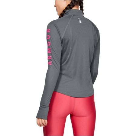 Dámské triko - Under Armour SPEED STRIDE SPLIT WORDMARK HALF ZIP - 6