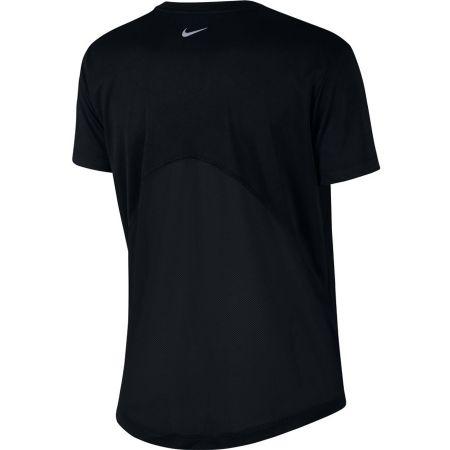 Tricou alergare damă - Nike MILER TOP SS HBR1 - 2