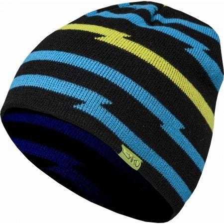 Chlapčenská pletená čiapka - Lewro AZELF - 1