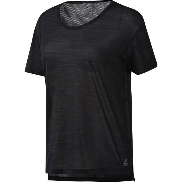 Reebok WOR AC TEE čierna S - Dámske tričko