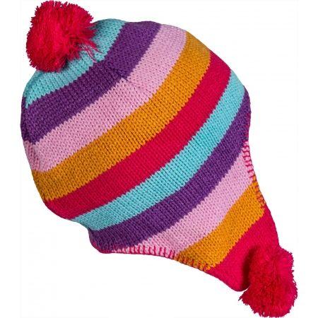 Dievčenská pletená čiapka - Lewro LOLA - 2