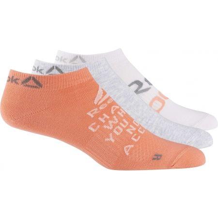 Dámské ponožky - Reebok FOUND W 3P INVISBLE SOCK