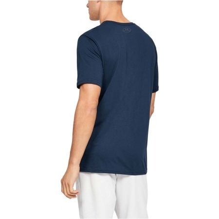 Herren Shirt - Under Armour SPORTSTYLE LOGO SS - 5