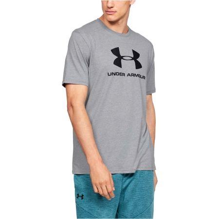 Pánske tričko - Under Armour SPORTSTYLE LOGO SS - 4