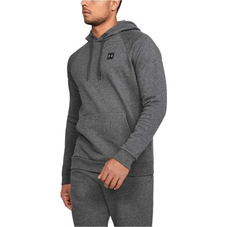 Pánska mikina - Under Armour RIVAL FLEECE PO HOODIE - 4