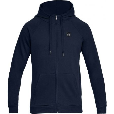 Under Armour RIVAL FLEECE FZ HOODIE - Men's sweatshirt