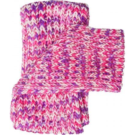 Dievčenský pletený šál - Lewro BIBURELA
