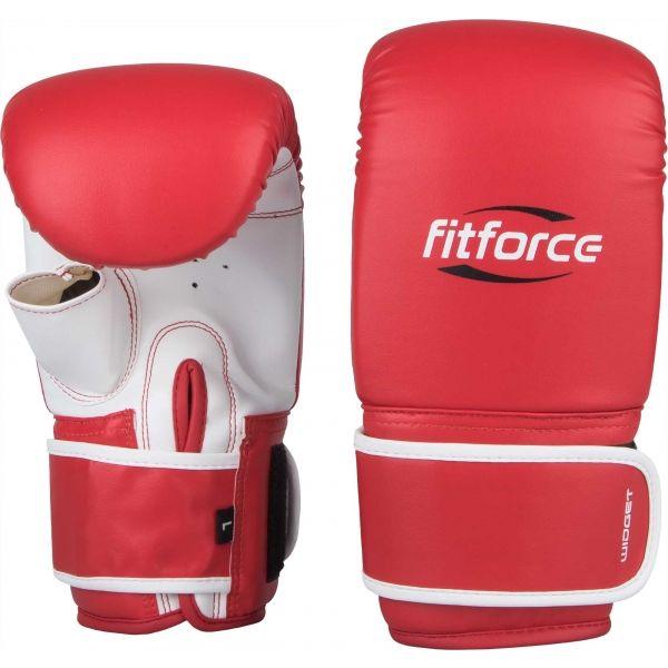 Fitforce WIDGET červená S - Boxerské rukavice
