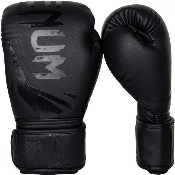 Venum CHALLENGER 3.0 BOXING GLOVES čierna 14oz - Boxerské rukavice