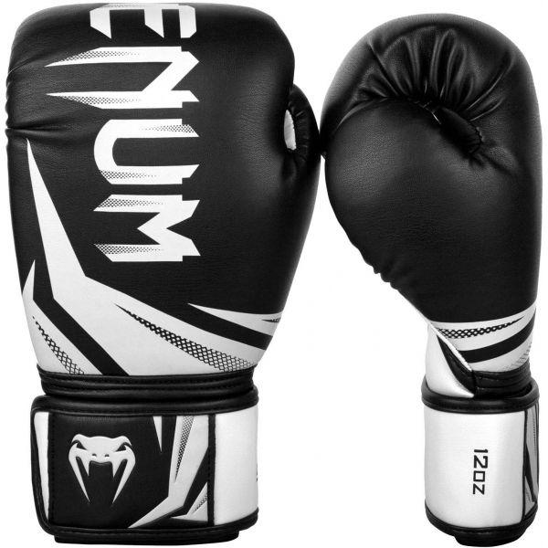Venum CHALLENGER 3.0 BOXING GLOVES bílá 14oz - Boxerské rukavice
