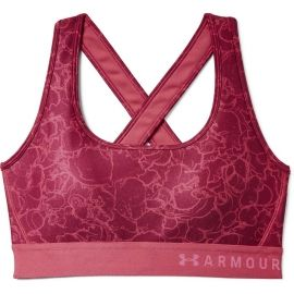 Under Armour ARMOUR MID CROSSBACK PRINTED BRA - Női sportmelltartó