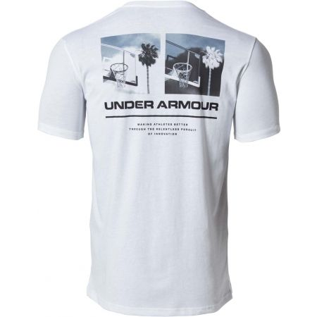 - Under Armour 1329614-100 UA ORIGINATORS PHOTOREAL SS SPLIT HEM-Wh - 2