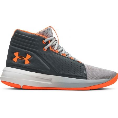 Under Armour BGS TORCH MID - Chlapčenská basketbalová obuv