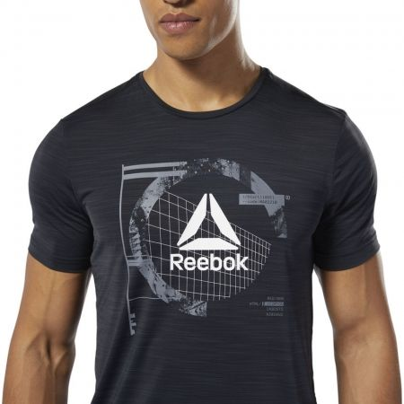 Мъжка тениска - Reebok WORKOUT READY ACTIVCHILL GRAPHIC - 6