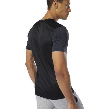Мъжка тениска - Reebok WORKOUT READY ACTIVCHILL GRAPHIC - 5