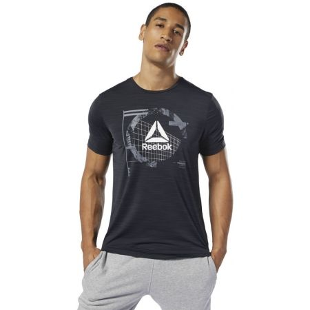 Мъжка тениска - Reebok WORKOUT READY ACTIVCHILL GRAPHIC - 3