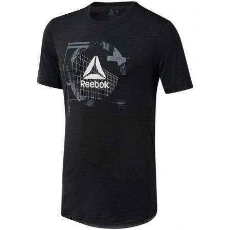 Мъжка тениска - Reebok WORKOUT READY ACTIVCHILL GRAPHIC - 1