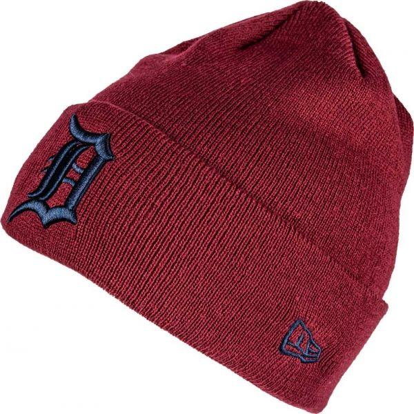 New Era MLB LEAGUE ESSENTIAL CUFF DETROIT TIGERS - Pánska zimná čiapka