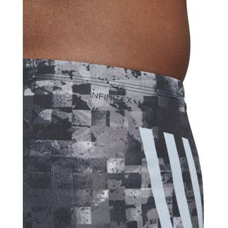Szorty kąpielowe męskie - adidas PRO 3-STRIPES SWIM BOXER - 8
